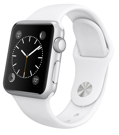 Apple Watch Sport 42mm Silver with White Sport