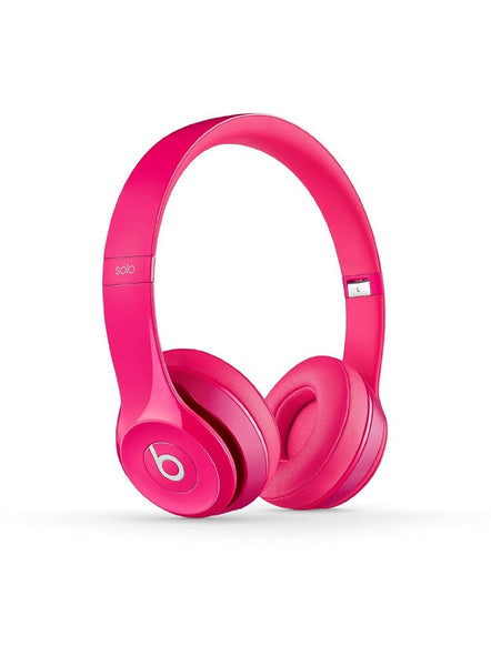 Beats Solo 2 Pink Headphones
