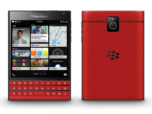 BlackBerry Passport  SQW100-1 Red