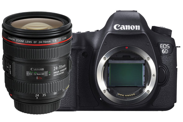 Canon EOS 6D Kit (24-105mm f/4L IS USM)
