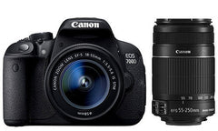 Canon EOS 700D Kit (18-55mm STM)(55-250)