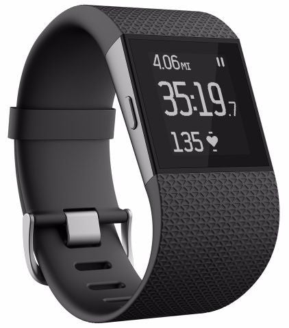 Fitbit Surge Fitness Super Watch Large Black
