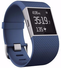 Fitbit Surge Fitness Super Watch Large Blue