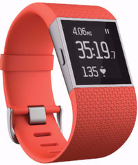 Fitbit Surge Fitness Super Watch Large Orange