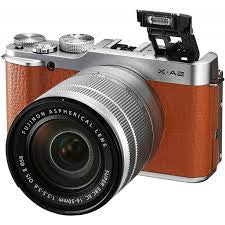Fujifilm X-A2 Kit (16-50) Brown