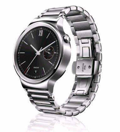 Huawei Watch Stainless Steel with Silver Link Band
