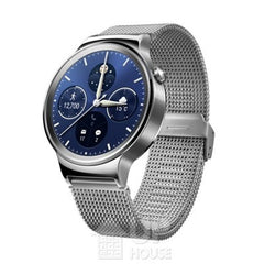 Huawei Watch Stainless Steel with Silver Mesh Band