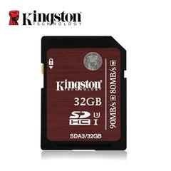 Kingston 32GB SDHC U3/4K 90MB/s