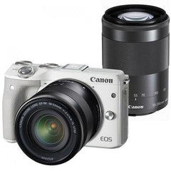 Canon EOS M3 kit (18-55)(55-200) White (Jap)