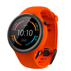Motorola Moto 360 II Watch 45mm(Sport Orange)
