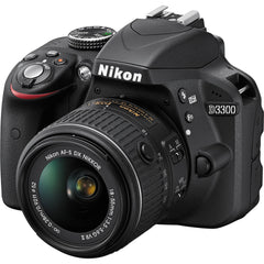 Nikon D3300 Kit (18-55 VR II) Black