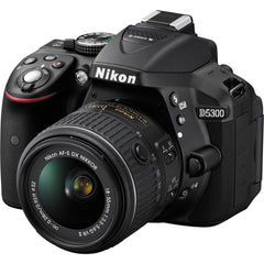Nikon D5300 Kit (18-55 VR II) Black