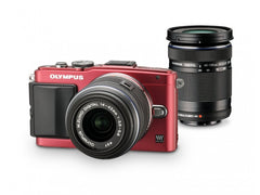 Olympus E-PL6 Twin kit (14-42)(40-150) Red