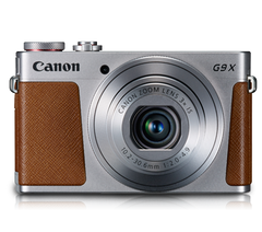 Canon PowerShot G9X (Silver)