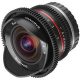 Samyang 8mm T3.1 V-DSLR UMC Fish-eye II (E-mount)