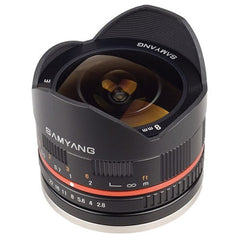 Samyang 8mm f/2.8 Fish-eye CS II (Sony E-Mount)