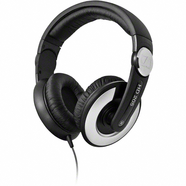 Sennheiser HD 205 II Headphones Black
