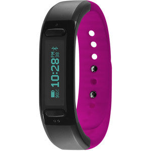 Soleus Go! Fitness Band Black / Pink