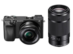Sony A6300 Double Kit (16-50mm)(55-210mm) Black