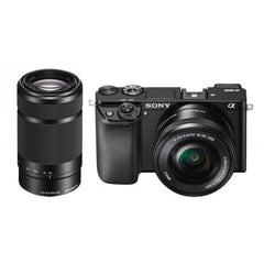 Sony ILCE-6000Y Double Kit (16-50)(55-210) Black