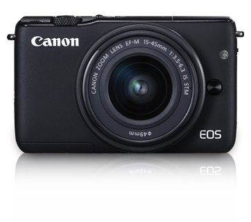 Canon EOS M10 kit (15-45mm) Black