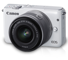 Canon EOS M10 kit (15-45mm) White
