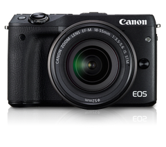 Canon EOS M3 kit (18-55)(55-200) Black