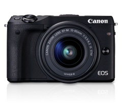 Canon EOS M3 kit (15-45)(22mm) Black (Jap)