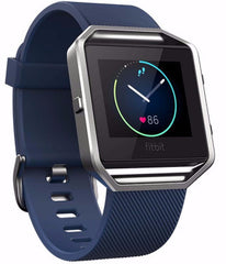 Fitbit Blaze Smart Fitness Watch (Large, Blue)