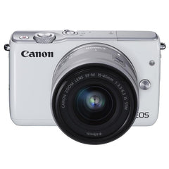 Canon EOS M10 Twin kit (15-45)(55-200) White