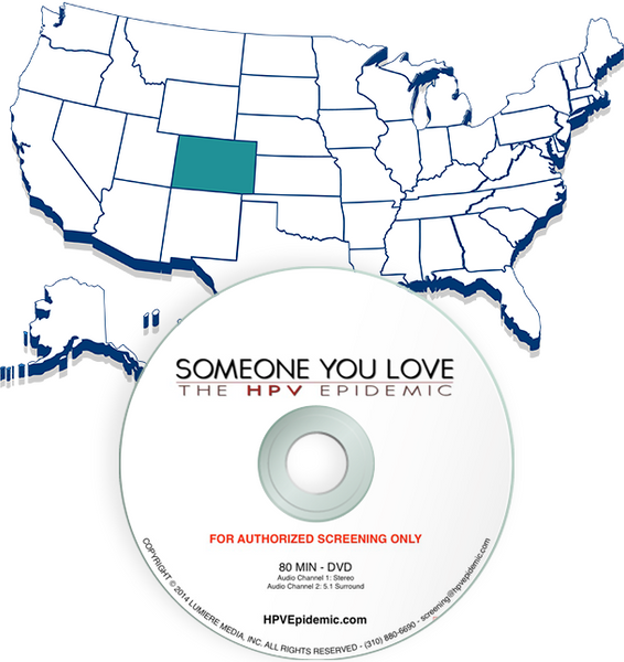 Free Public Screening License in the State of COLORADO (DVD)