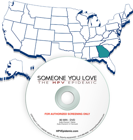Free Public Screening License in the State of GEORGIA (DVD)
