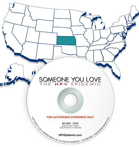 Free Public Screening License in the State of KANSAS (DVD)