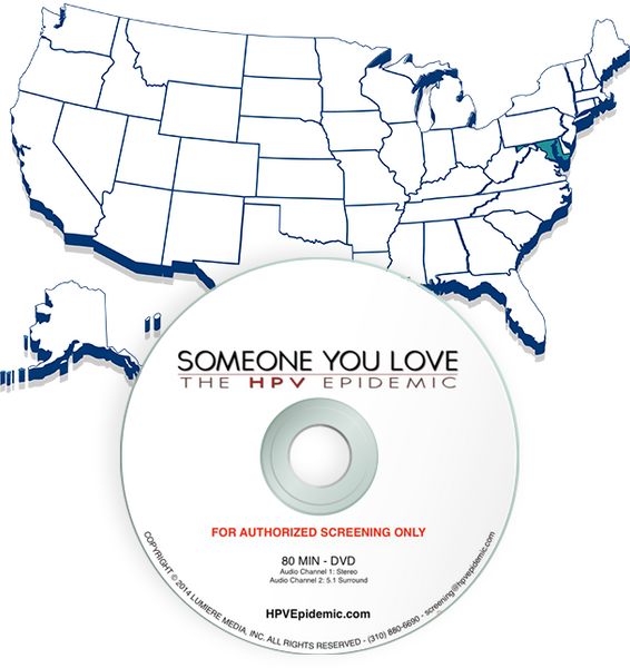 Free Public Screening License in the state of Maryland (DVD)