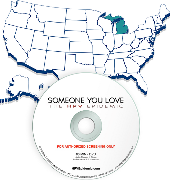 Free Public Screening License in the State of MICHIGAN (DVD)