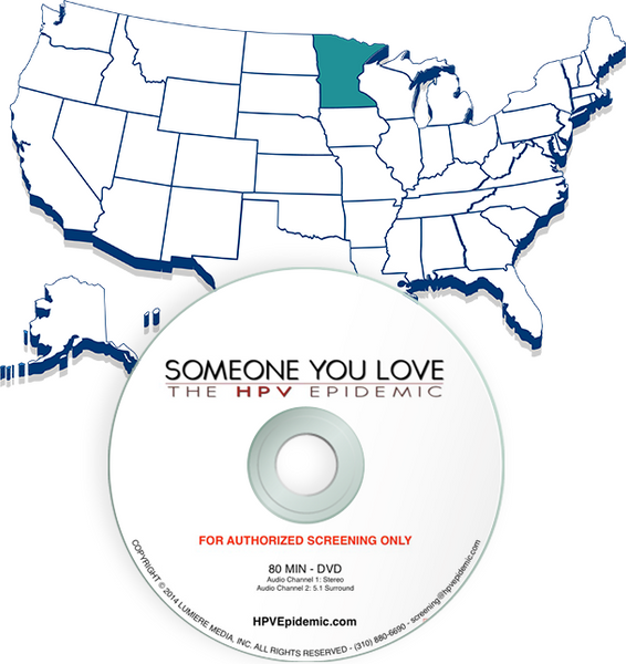 Free Public Screening License in the State of MINNESOTA (DVD)