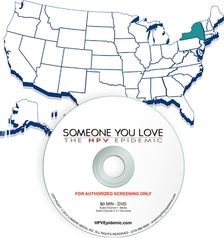 Free Public Screening License in the State of NEW YORK (DVD)