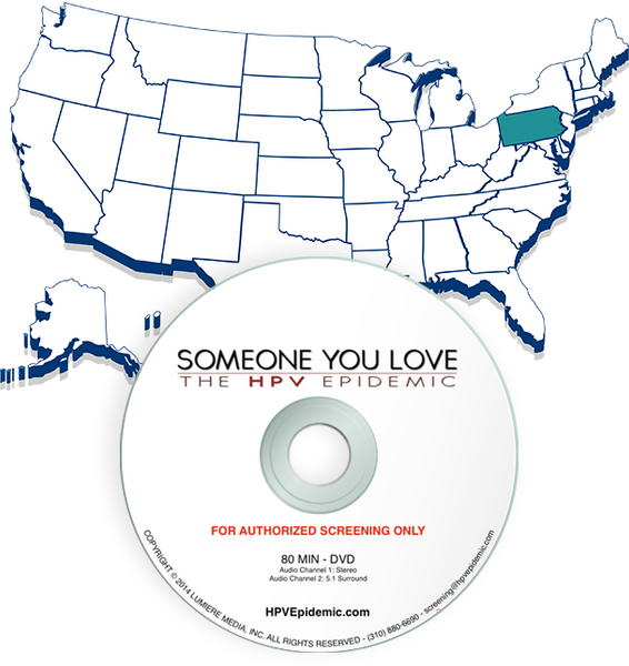 Free Public Screening License in the state of Pennsylvania (DVD)
