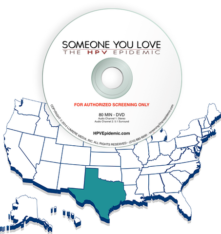 Free Public Screening License in the State of TEXAS (DVD)