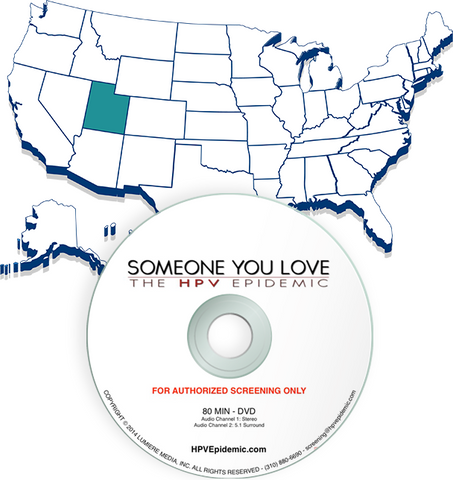 Free Public Screening License in the State of UTAH (DVD)