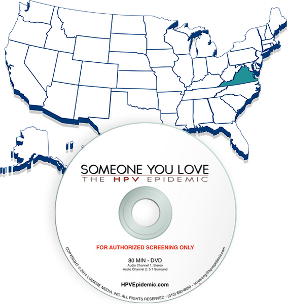 Free Public Screening License in the State of VIRGINIA (DVD)