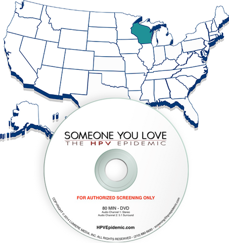 Free Public Screening License in the State of WISCONSIN (DVD)