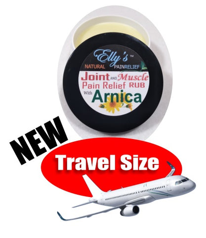 Travel Size Topical Natural Pain Relief with ARNICA