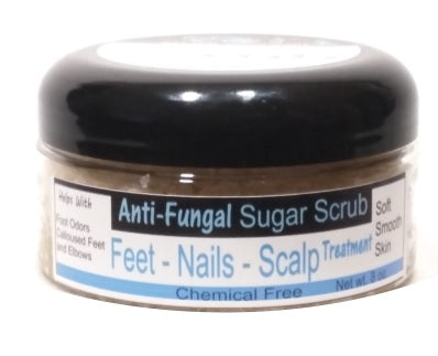 Anti Fungal Scrub - Fight Feet Odors & Nail Fungus