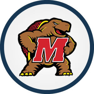 University of<br/>Maryland<br />Terrapins