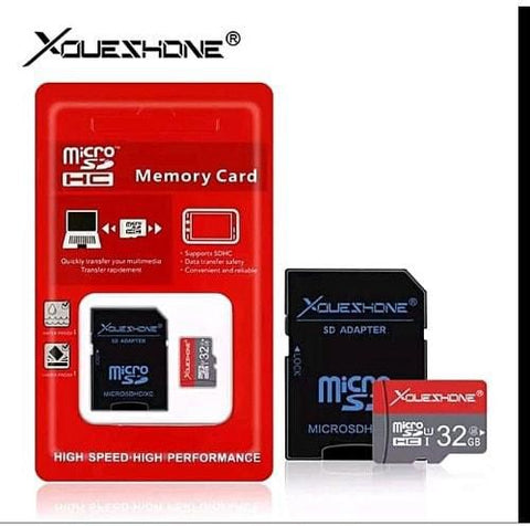 Micro SD Card 16GB with Adapter