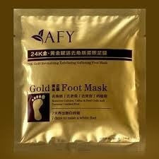 AFY Gold Foot Care Mask Set Corneous/Dead Skin!-JJ's Jems