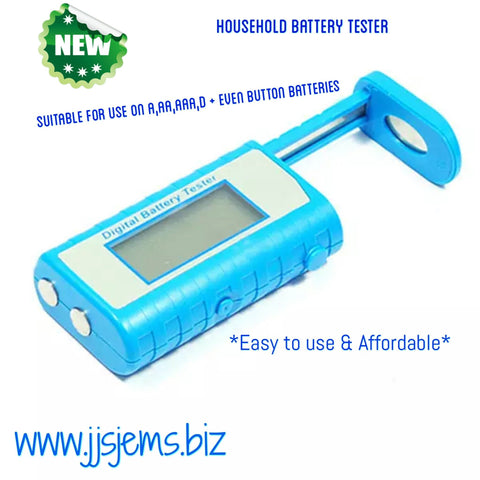 Digital LED Battery Tester-JJ's Jems