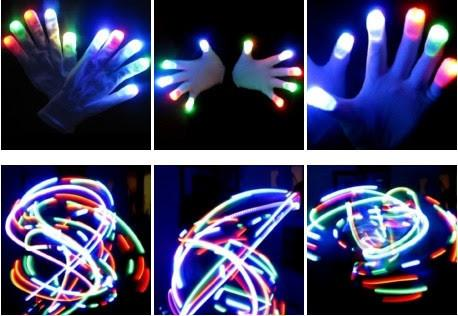 LED Rave Gloves-JJ's Jems
