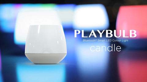 Pack of 2 PLAYBULB candle-JJ's Jems